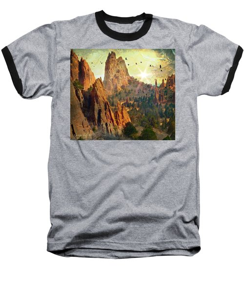 Garden Of The Gods Baseball T-Shirt
