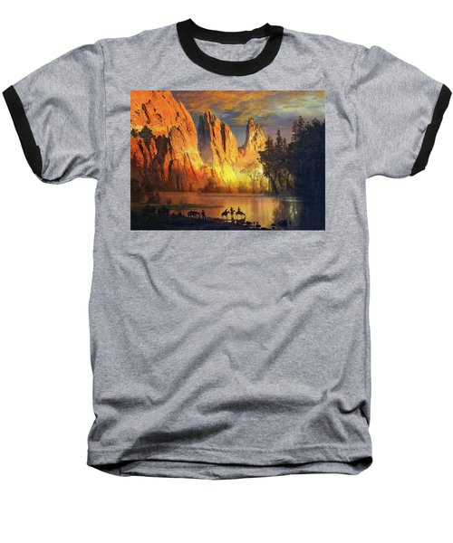 Garden Of The Gods Majesty At Sunset Baseball T-Shirt