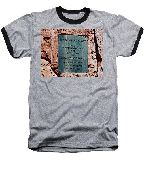 Garden Of The Gods Baseball T-Shirt