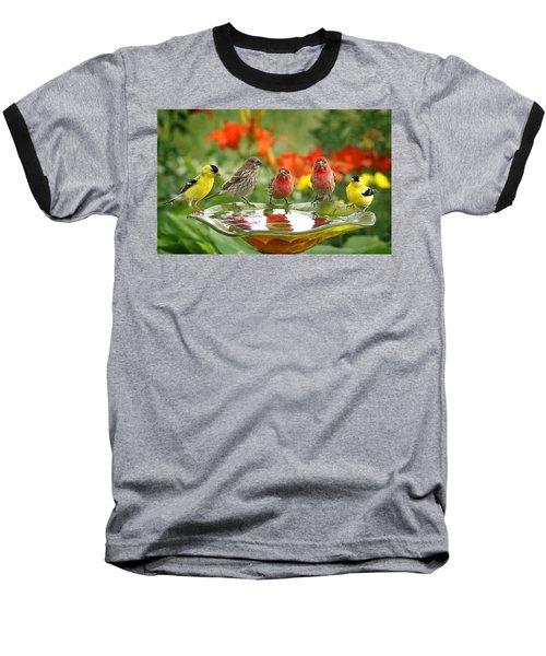 Garden Party Baseball T-Shirt