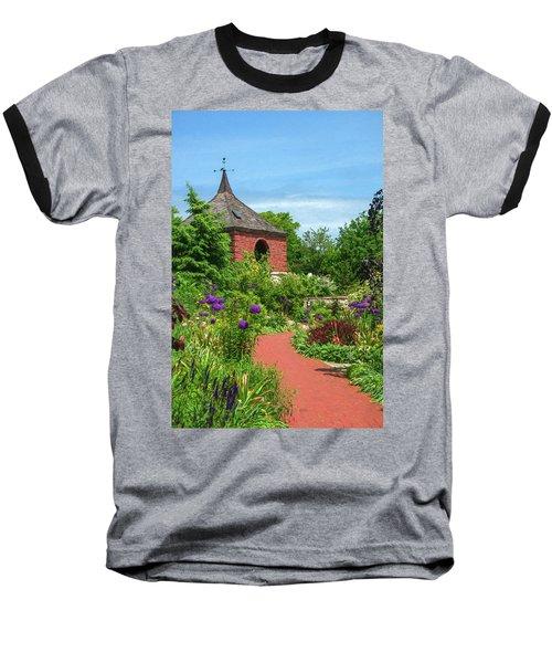 Garden Path Baseball T-Shirt by Trey Foerster