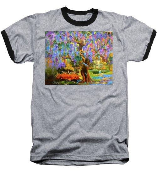 Garden Pathway Baseball T-Shirt