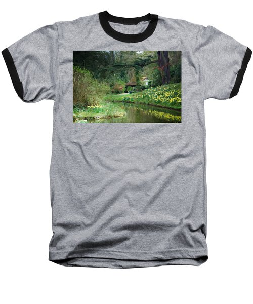 Garden Pond Baseball T-Shirt