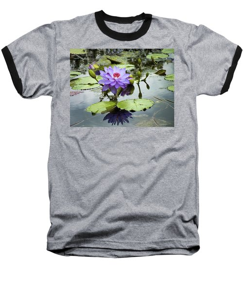 Garden Reflaections Baseball T-Shirt