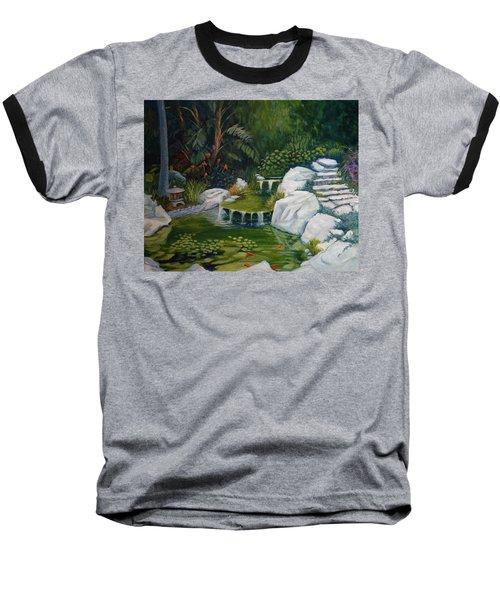 Garden Retreat Baseball T-Shirt