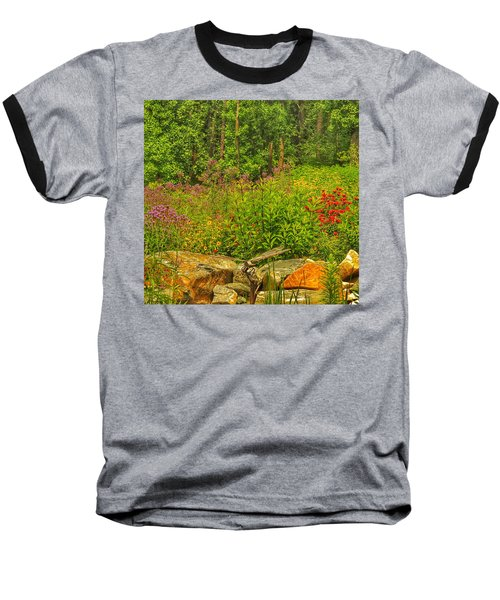 Garden Rocks Baseball T-Shirt