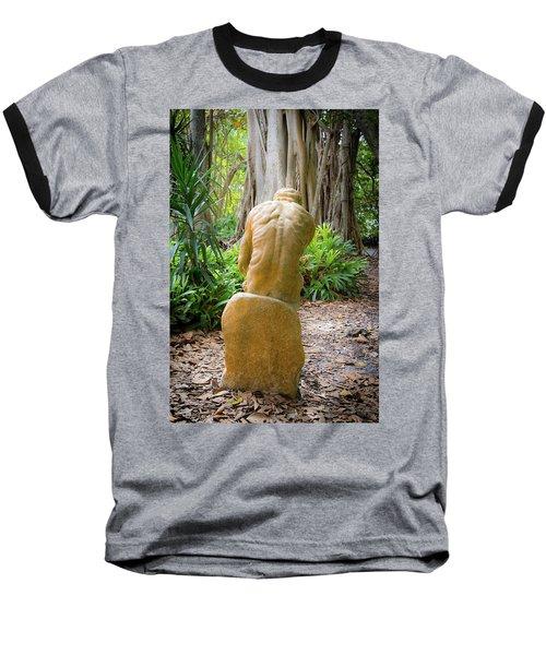 Garden Sculpture 2 Baseball T-Shirt