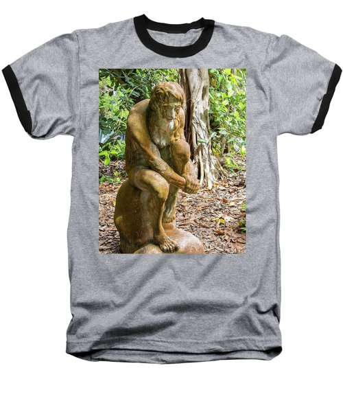 Garden Sculpture 3 Baseball T-Shirt
