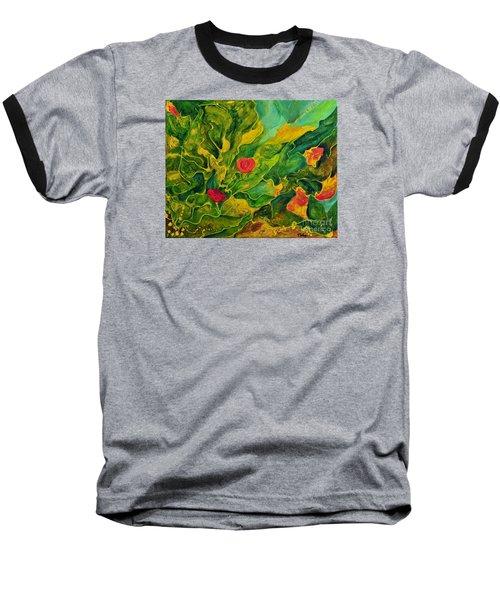 Garden Series Baseball T-Shirt by Teresa Wegrzyn