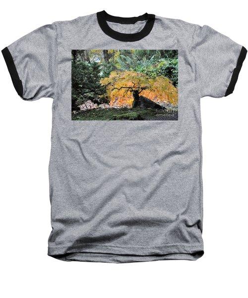 Garden Tapestry Baseball T-Shirt