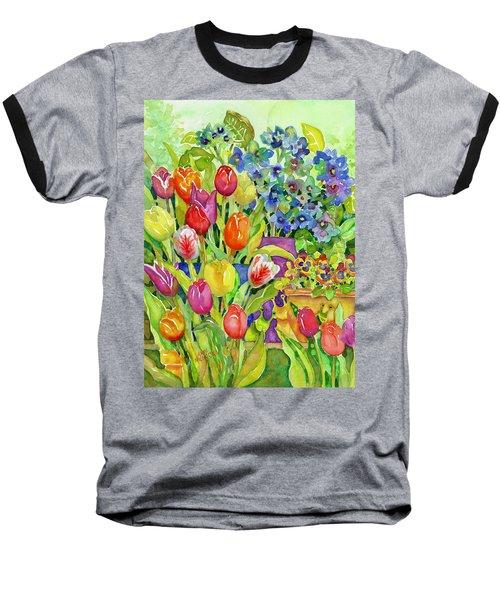 Garden Visitors Baseball T-Shirt