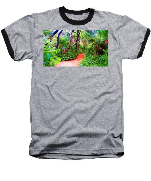 Garden Walk Baseball T-Shirt