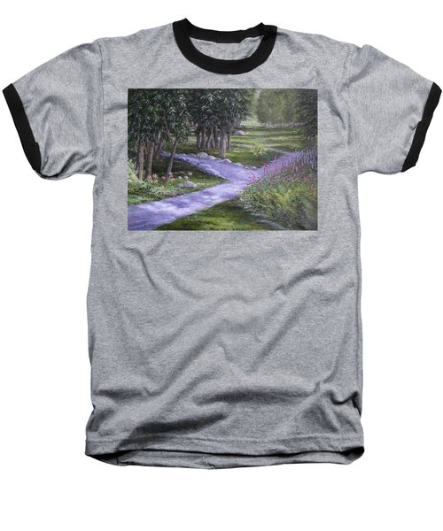 Garden Walk Baseball T-Shirt