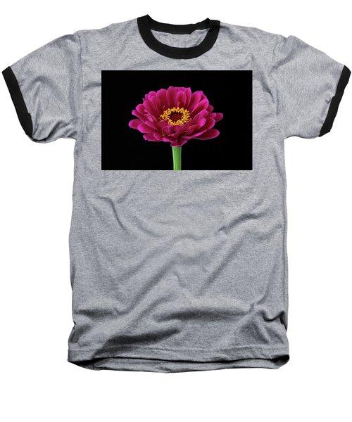 Garden Zinnia Baseball T-Shirt