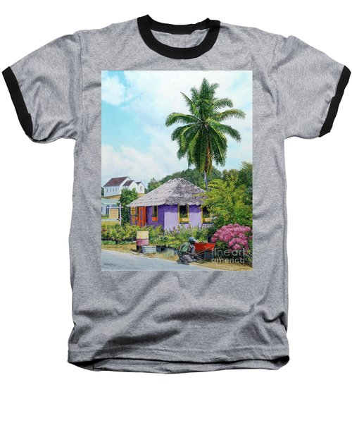Gardener Hut Baseball T-Shirt