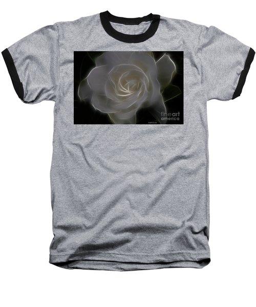 Gardenia Blossom Baseball T-Shirt