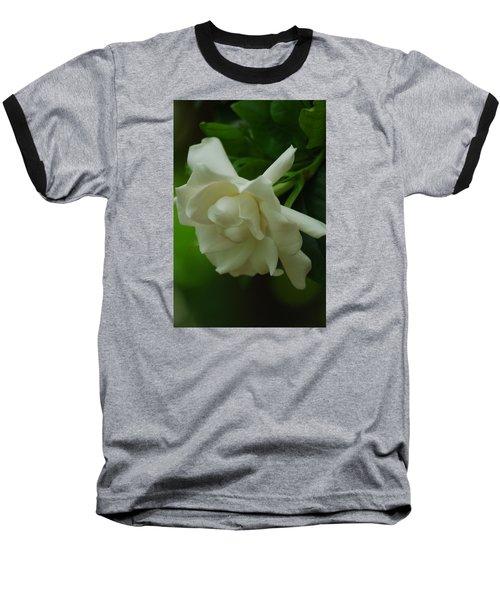 Baseball T-Shirt featuring the photograph Gardenia by Ramona Whiteaker