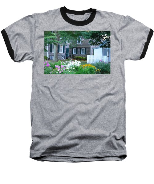 Gardens At The Burton-ingram House - Lewes Delaware Baseball T-Shirt