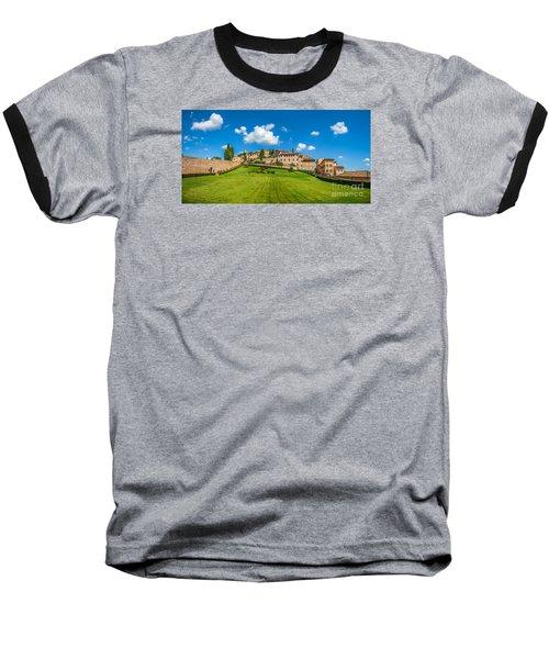 Gardens Of Assisi Baseball T-Shirt by JR Photography