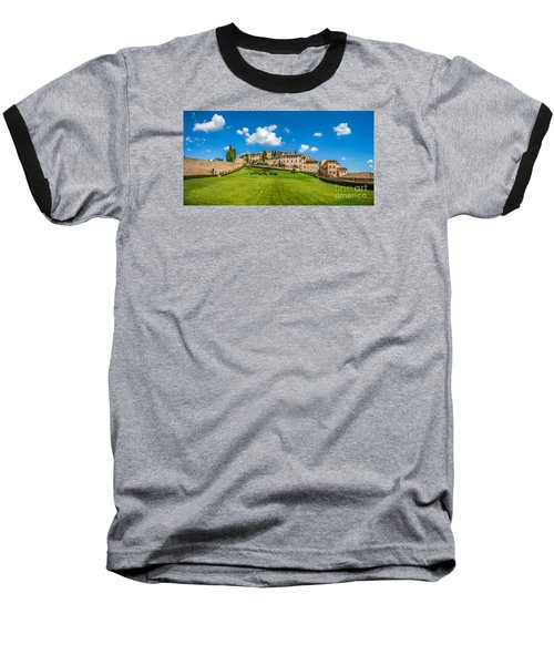 Gardens Of Assisi Baseball T-Shirt