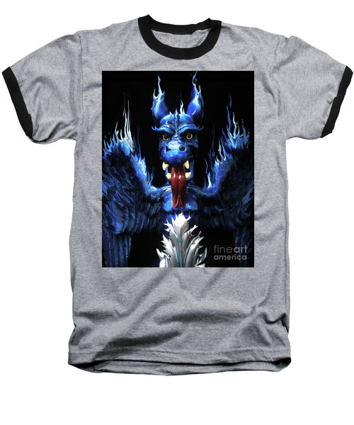 Gargoyle Baseball T-Shirt by Jim and Emily Bush
