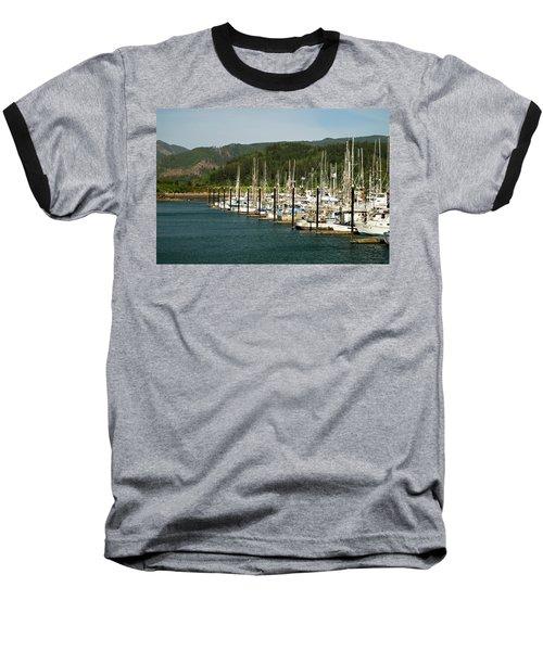 Garibaldi Oregon Marina Baseball T-Shirt