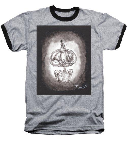 Garlic Boy Baseball T-Shirt