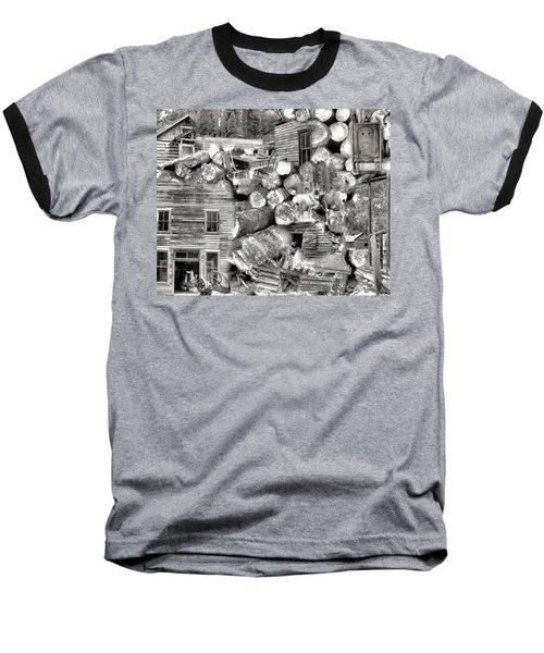 Garnet Montana Baseball T-Shirt by Susan Kinney
