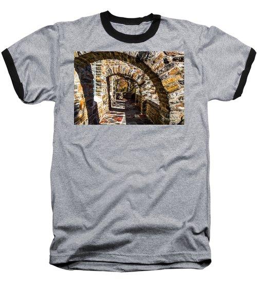 Garrett Chapel Balcony Baseball T-Shirt