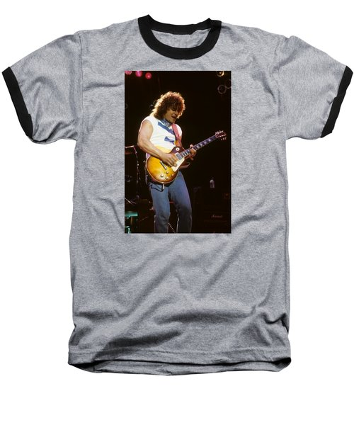 Gary Richrath Of Reo Speedwagon Baseball T-Shirt