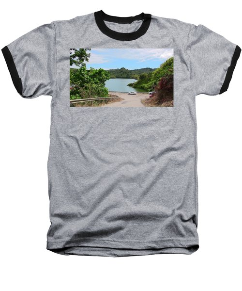 Garzas Lake Road Baseball T-Shirt
