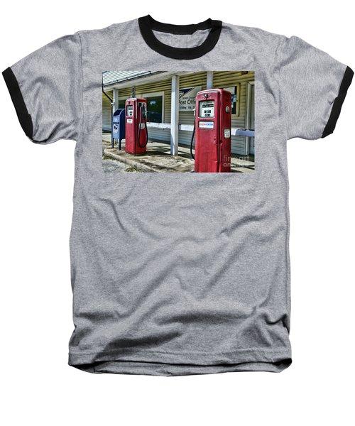 Gas And Mail 1 Baseball T-Shirt by Paul Ward