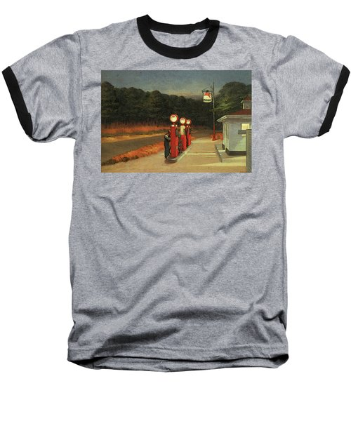 Gas  Baseball T-Shirt