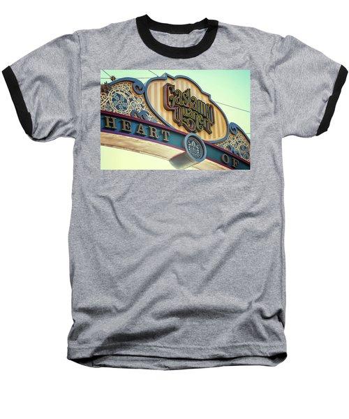 Gaslamp Close Up Baseball T-Shirt