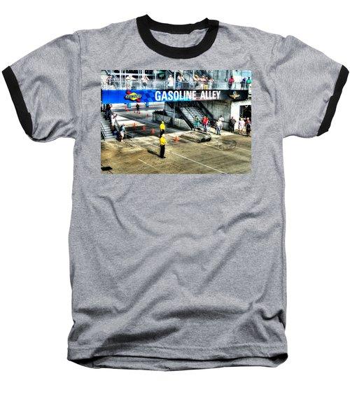 Gasoline Alley Baseball T-Shirt by Josh Williams