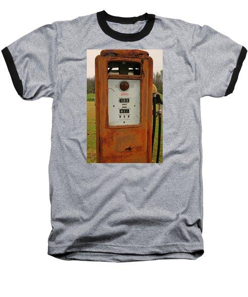 Gasoline Pump Baseball T-Shirt