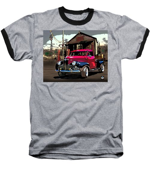 Gassed Up And Ready Baseball T-Shirt