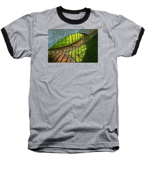 Baseball T-Shirt featuring the photograph Gate-redemption by Joseph Hawkins