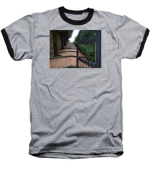 Gate To Castello Vichiamaggio Baseball T-Shirt