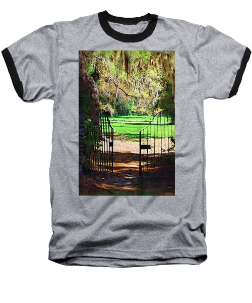 Baseball T-Shirt featuring the photograph Gate To Heaven by Donna Bentley