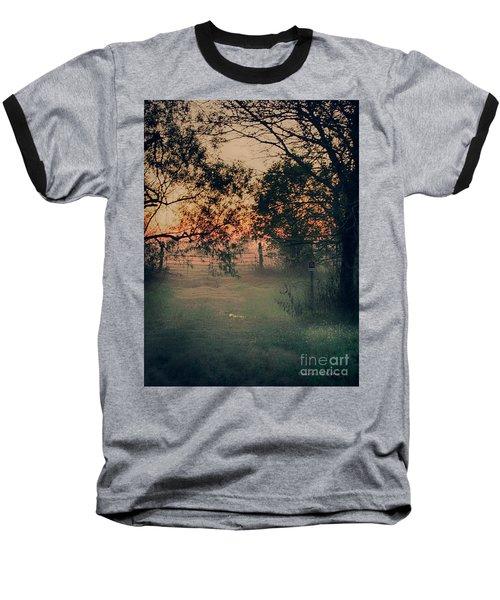 Gated Sunset Baseball T-Shirt