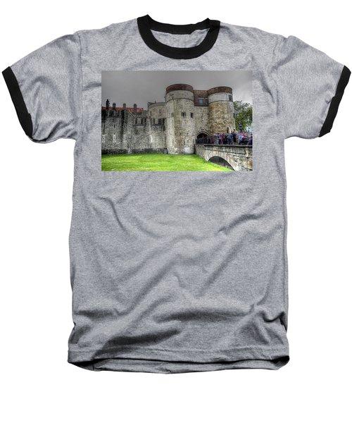 Gates To The Tower Of London Baseball T-Shirt by Karen McKenzie McAdoo