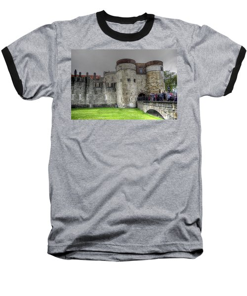 Gates To The Tower Of London Baseball T-Shirt