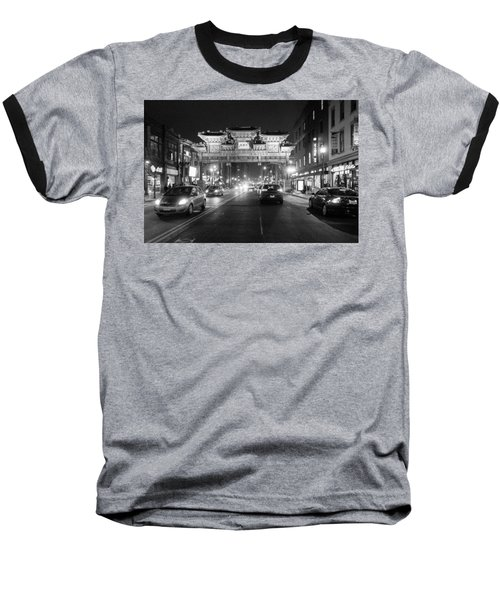 Gateway To Chinatown Baseball T-Shirt