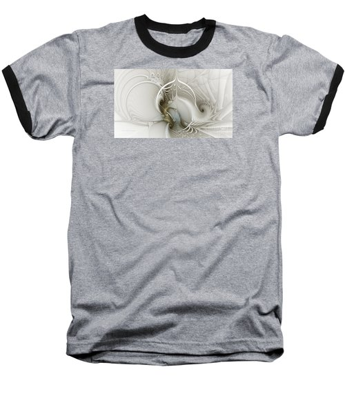 Gateway To Heaven-fractal Art Baseball T-Shirt by Karin Kuhlmann