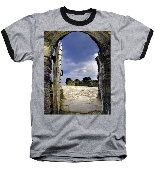 Gateway To The Castle  Baseball T-Shirt