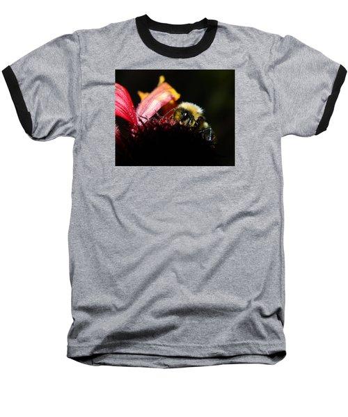 Gathering Baseball T-Shirt by Janet Rockburn