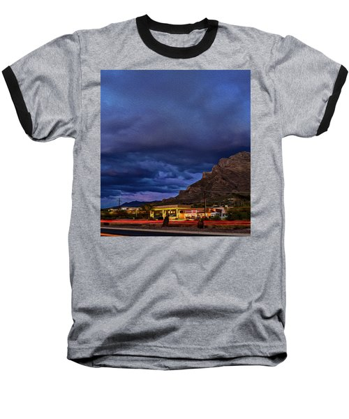 Gathering Storm Op51 Baseball T-Shirt by Mark Myhaver