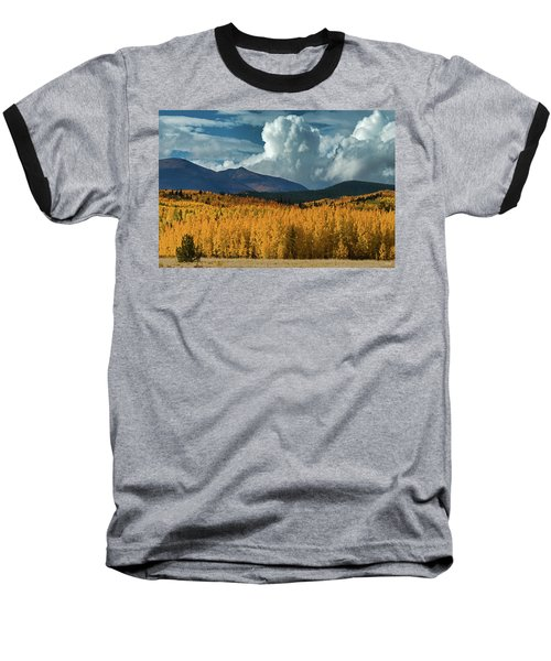 Baseball T-Shirt featuring the photograph Gathering Storm - Park County Co by Dana Sohr