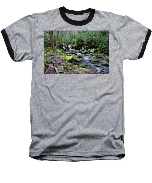 Gatlinburg Water Baseball T-Shirt